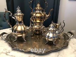 Reed & Barton Silver tea set 1952 Winthrop
