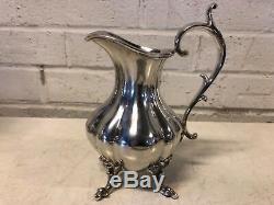 Reed & Barton Winthrop Silver plate 5 Piece Tea set