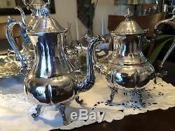 SHERIDAN 6 Pc. Silver Coffe & Tea Service