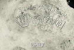 SILVER PLATED SAMOVAR/ TEA KETTLE/ ENGLAND 1880 Birmingham Silver plate English