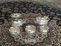 Sheffield England Tea Set Cheltenham Epns With Black Handles Great Very Vintage