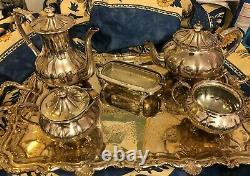 Sheffield Silver Antique Tea Set
