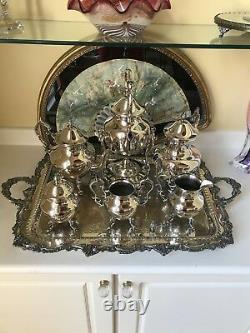 Sheffield Silver Plate Tea Set