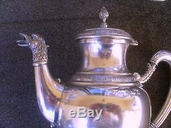 Silver 800 Tea and Coffe set of 4