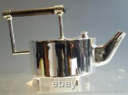 Silver Plated Christopher Dresser Styled Tea Pot