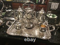 Silverplate Coffee/Tea Set