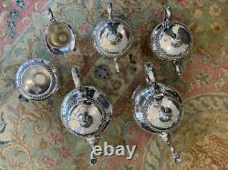Six Pieces Silver Plated Tea Set by International Silver
