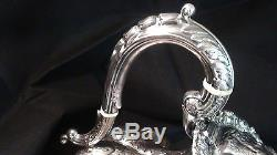 Stunning Engraved Silver Plated Tea / Coffee Kettle