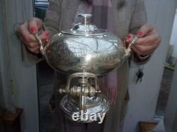 Superb Elkington Silver Plated Samovar Tea Urn A1 Cond 2 Litres Spotless Inside