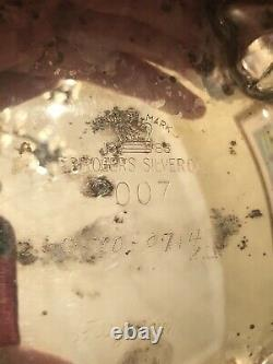 Vintage 1947 Reed & Barton Silver Plate 7 Pc Tea Set Silver Plate Service