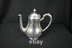 Vintage Christofle Silverplate Tea Set