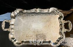 Vintage Leonard Silver Company 5 Piece Coffee or Tea Service Set Silver plate