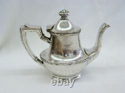 Vintage Missouri Pacific Railroad MoPac Eagle International Silverplate Tea Pot