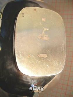 Vintage Silver Plate 4 Piece Tea & Coffee Set Walker & Hall
