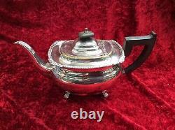 Vintage Viners Of Sheffield Alpha Plate 5 Piece Coffee/Tea Set