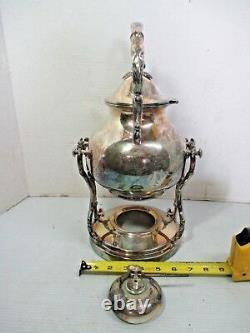 Vtg Goldfelder Silver Plate Silverplate Coffee Tea Server / Warmer Tip & Pour