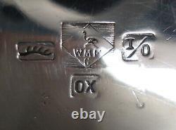 WMF ox Jugendstil ART NOUVEAU silver plate Tea coffee hot water Pot The core of