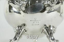 Winthrop Pattern Silverplate 5 pc Coffee & Tea Set, Reed & Barton #35324